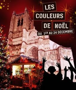 auxerre Marché-de-Noël-cathédrale_rvb